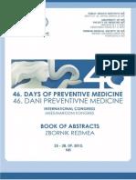 46 Dani Preventivne Medicine-zbornik Rezimea