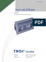 Trox-Drum Jet Diffusers