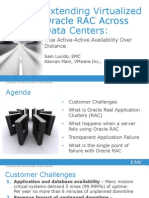 Extending Virtualized OracleRAC With EMC and VMware