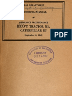 TM 9-1773  HEAVY TRACTOR M1, CATERPILLAR D7