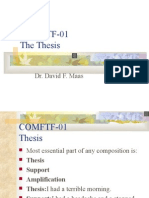 Comftf-01 the Thesis (With Sound)