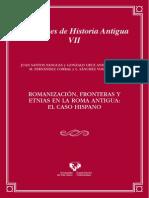 Fronteras y Etnias Hispania Romana