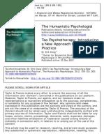 Craig - Tao Psychoterapy