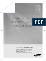 Sistema Digital de Home Cinema Samsung