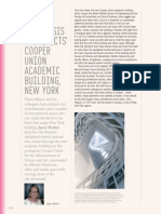MERKEL, Jayne_Morphosis Architects Cooper Uniun Academic Building New York