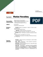 Cv Necule Marius