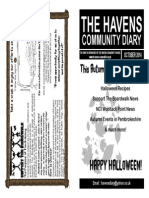 The Havens Community Diary October 2014