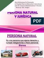 Persona Juridica y Natural