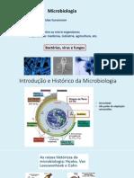 Aula 1 Histórico Da Microbiologia - Agronomia