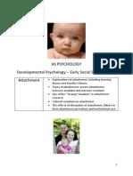 Development Booklet One