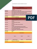 Program Per 13 Okt 2014