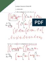 Resolucao Lista Exercicios Calc III