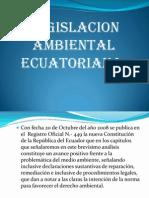 Legislacion Ambiental Del Ecuador