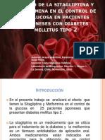 Efecto de La Sitagliptina y Metformina Ppt