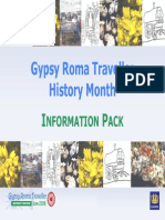 Gypsy Roma Traveller History Month - Info Pack