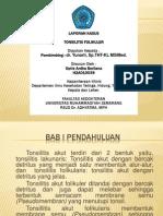 Ppt Tonsilitis