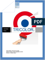 Informe Final Tricolor