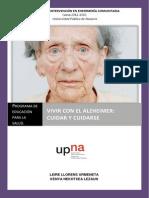 Vivir Con El Alzheimer-cuidar y Cuidarse (1)