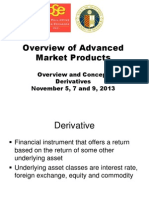 PSE - Ateneo CCE - 9th CSSC - Overview of Advanced Market Products - Derivatives