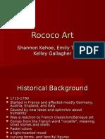 Rococo Art PowerPoint