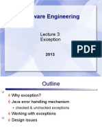 Lect3 Exceptions
