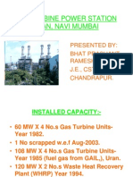 Gas Turbine Power Station