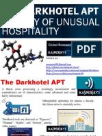 Dark Hotel APT
