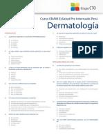 Test de dermatología cto 2014