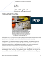 Evaluating California's Stem Cell Experiment _ the Sacramento Bee