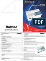 Manual Alarme Multitoc x4