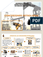 Consecuencias Concesiones Petroleras