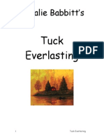 Tuck Everlasting Study Guide