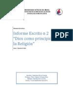 RESUMEN FILOSOFIA DE LA RELIGION