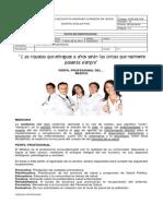 Perfil Profesional Médico