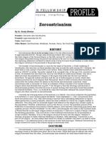 Zoroastrianism Profile