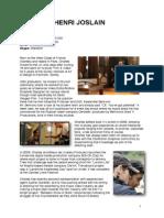 Charles H. Joslain - Director's CV.pdf