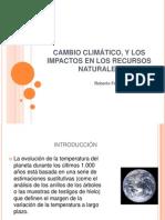 Cambio Climatico y RRNN Roberto Fern.