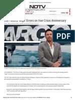 CIA Tweets 'Argo' Errors on Iran Crisis Anniversary
