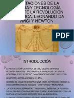 Aportaciones de La Ciencia y Tecnología Durante La Revolución Científica Leonardo Da Vinci y Newton