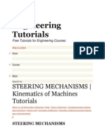 Engineering Tutorials Steering