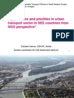 4 Urban Transport in See Region