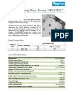 Promat Durasteel_Technical Advisory Notes Updated