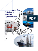 Guidelines for Offshore Marine Operations