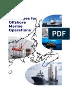 Resultado de imagen para Guidelines for Offshore Marine Operations G-OMO,