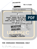 TM 9-1765B BOMB SERVICE TRUCK M6 CHEVROLET