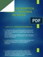 Codigo de Bioetica Para El Personal de Salud