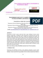 Transmission Line Fault Classification