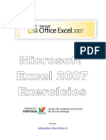 Manual Exercicios Excel 2007