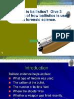 ballistics notes 1