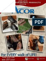 2009 2010 Acor Custom Pedorthics Catalog E